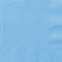 Powder Blue Napkins (20pcs) 2-Ply Paper Napkins